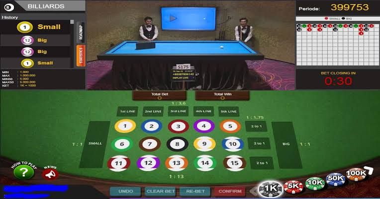 Cara Perhitungan Permainan Billiard IDN Live