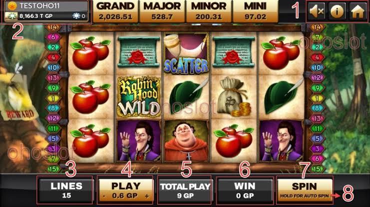 slot online Robin Hood Joker123