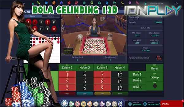 Bola Gelinding 12D IDN Live Casino