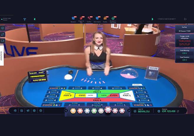 Fantan Live Casino